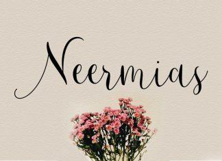 Neermias Script Font