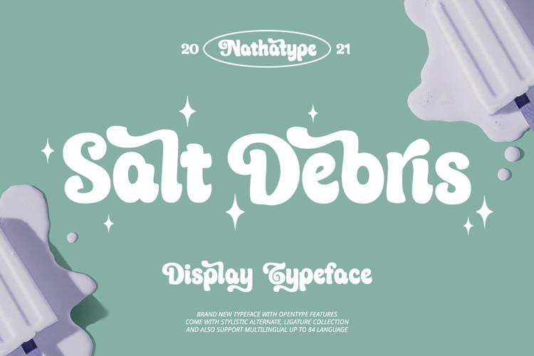 Salt Debris Script Font