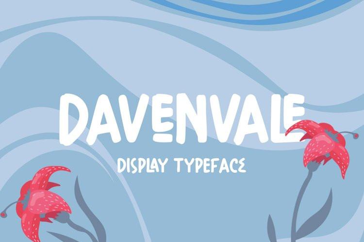 Davenvale Display Font