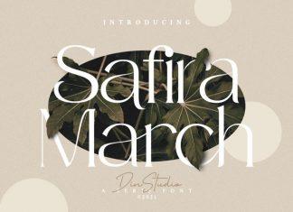 Safira March Serif Font