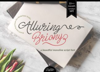 Alluring Briony Handwritten Font
