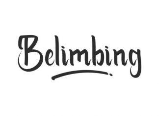 Belimbing Script Font