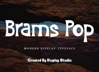 Brams Pop Display Font