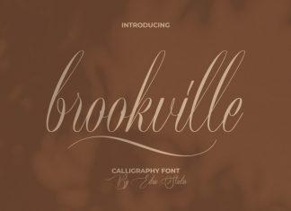 Brookville Script Font