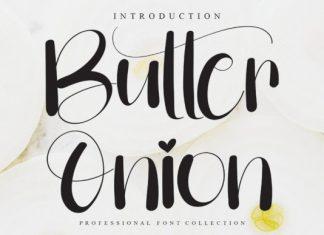 Butter Onion Script Font