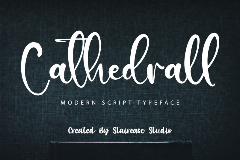 Cathedrall Script Font