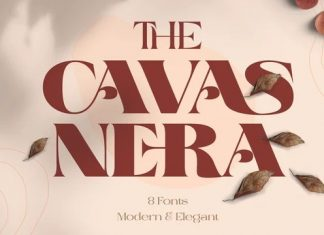 Cavas Nera Serif Font