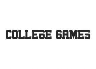 College Games Slab Serif Font