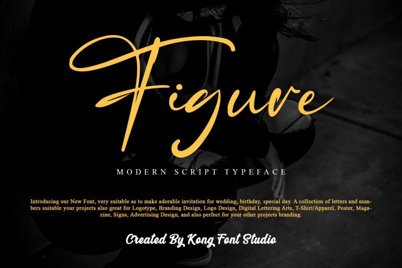 Figure Script Font