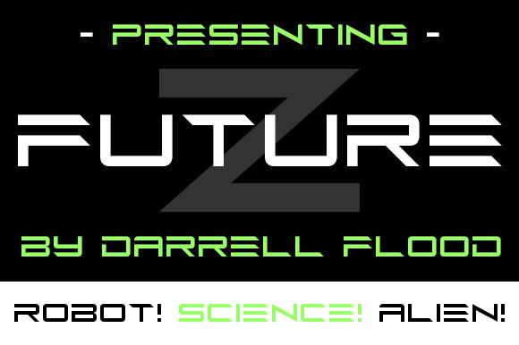 Future Z Display Font