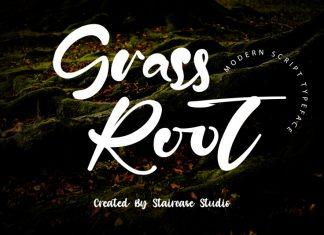 Grass Root Script Font