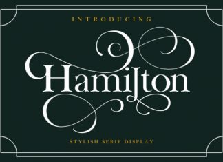 Hamilton Serif Font