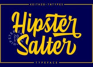 Hipster Salter Script Font