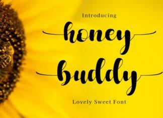 Honey Buddy Script Font