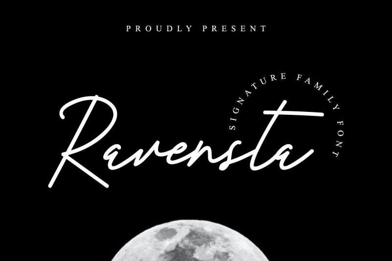 Ravensta Script Font