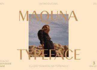 Maquna Sans Serif Font