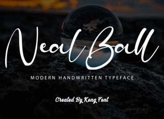 Neal Ball Script Font