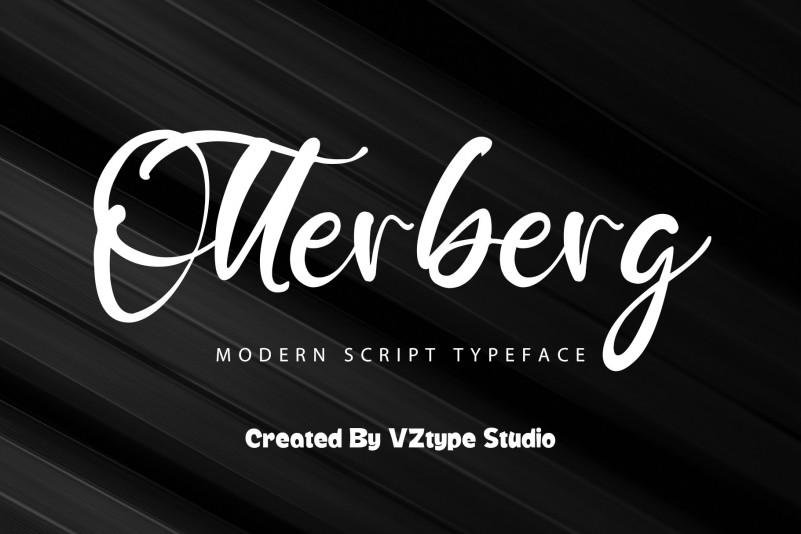 Otterberg Script Font