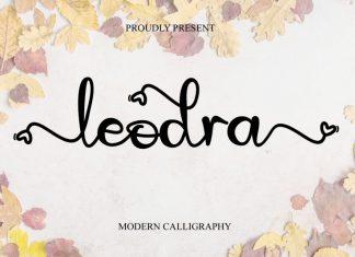 Leodra Script Font