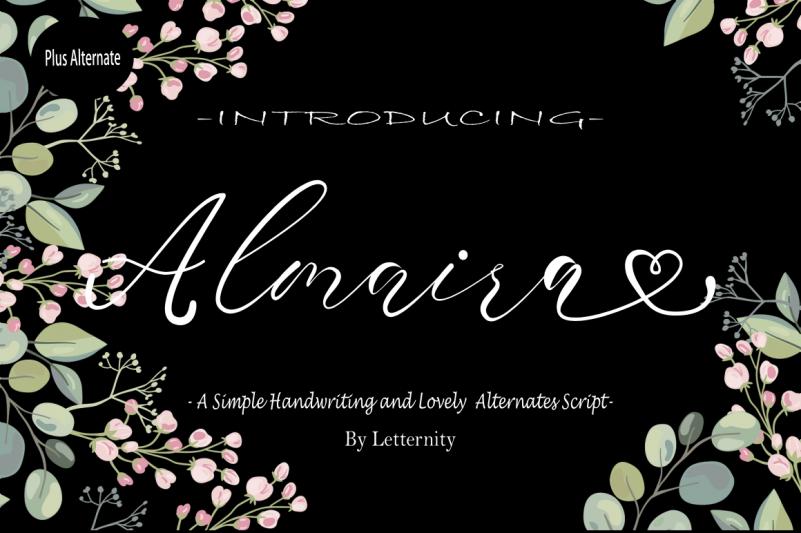 Almaira Script Font