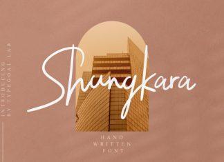 Shungkara Handwritten Font