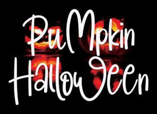 PuMpkin HalLoWeen Handwritten Font