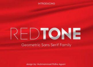 Redtone Sans Serif Font