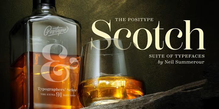 Scotch Sans Serif Font