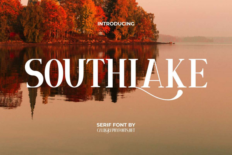 Southlake Serif Font
