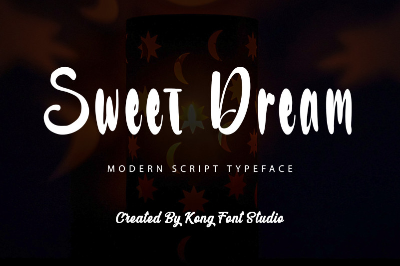 Sweet Dream Script Font