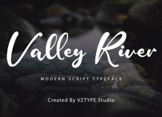 Valley River Script Font