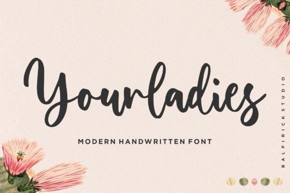 Yourladies Script Font