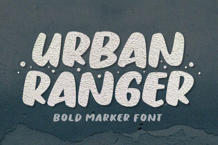 Urban Ranger Brush Font