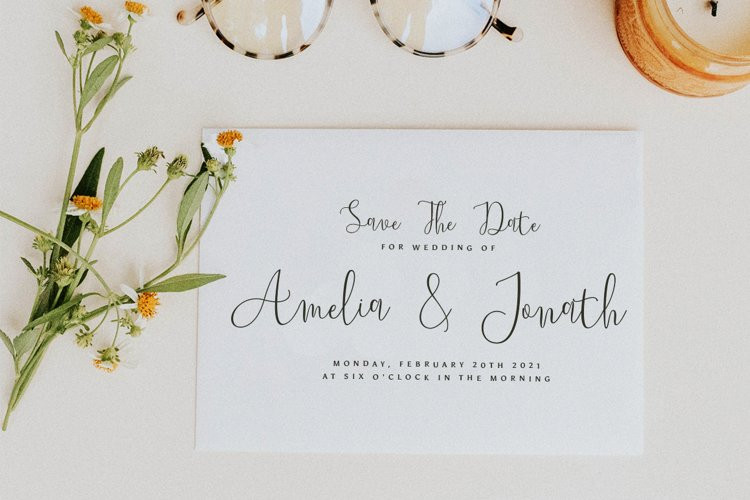 Youthline Calligraphy Font