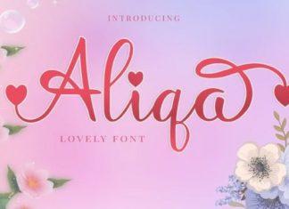 Aliqa Calligraphy Font