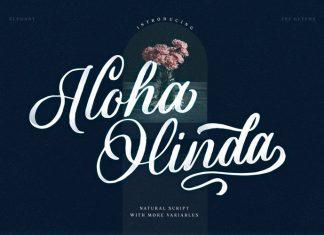 Aloha Olinda Script Font