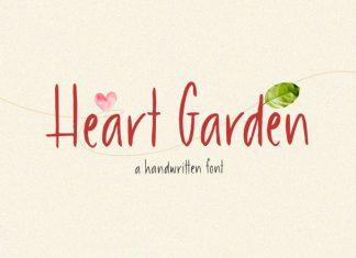 Heart Garden Handwritten Font
