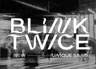 Blink Twice Display Font