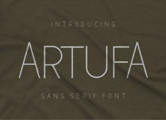 Artufa Sans Serif Font