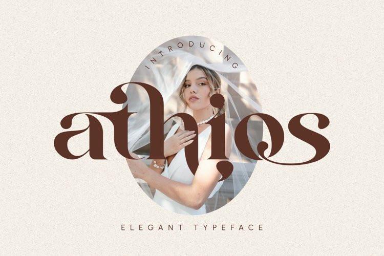 Athios Serif Font