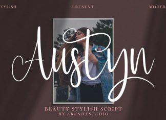 Austyn Calligraphy Font