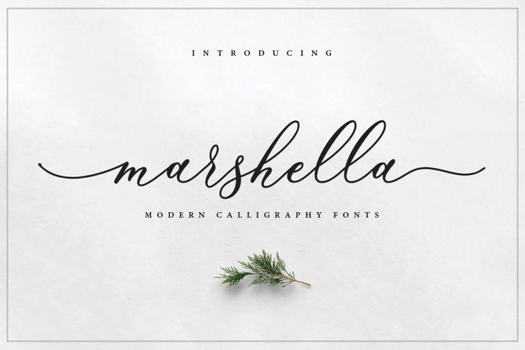 Marshella Script Font