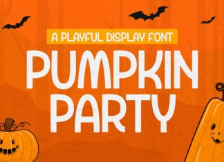 Pumpkin Party Display Font