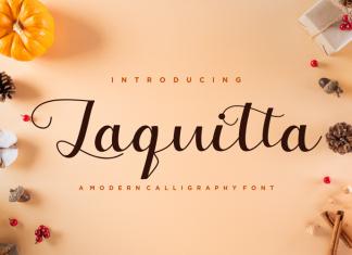 Laquitta Script Font