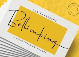 Bellimbing Handwritten Font