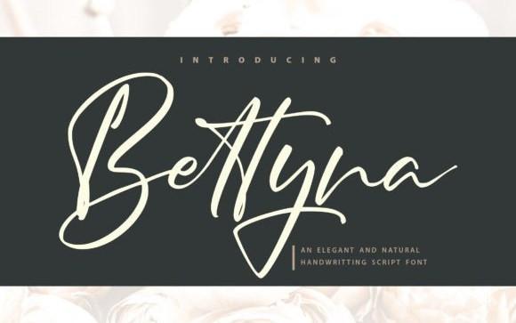 Bettyna Script Font