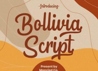Bollivia Script Font