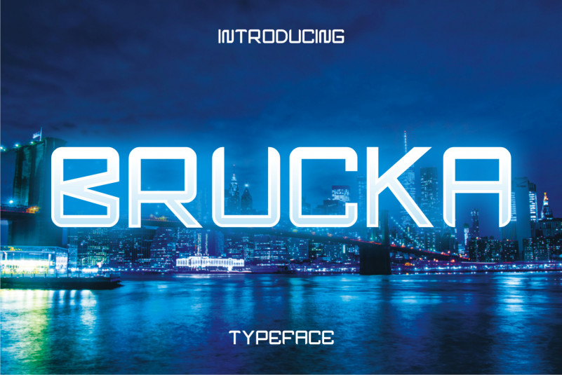Brucka Display Font