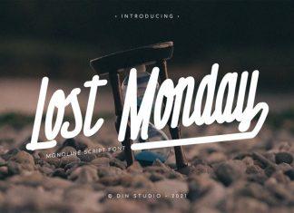 Lost Monday Script Font