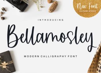 Bellamosley Script Font